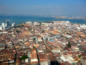 The urban landscape of George Town, Penang, a UNESCO World Heritage Site since 2008.