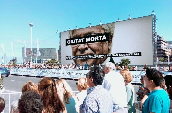 Ciutat Morta Poster at San Sebastián Film Festival. Source: http://www.cafeambllet.com