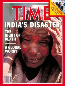 TIME Magazine cover on the Bhopal disaster, 17 December 1984. Source: content.time.com
