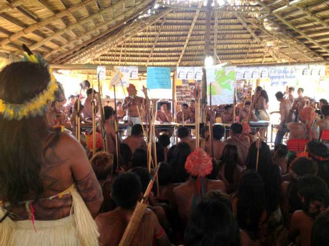 Munduruku assembly. Source: Amazon Watch
