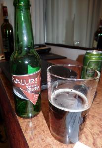 A bottle of Hvalur 2 beer. Source: Benedict Singleton