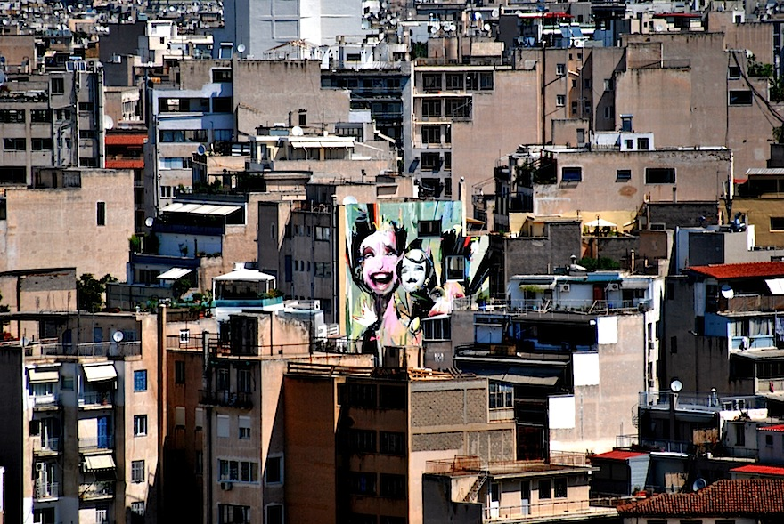 Athens. Source: http://bohemestudio.com/wp-content/uploads/2011/09/2011-Graffiti-skyline-Athens-Greece3872x2592.jpg