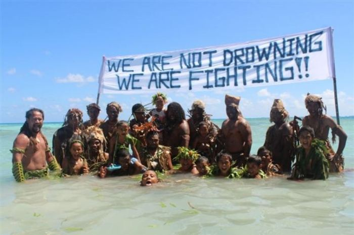 Climate change won't affect everyone equally. More likely, it will mean that some get lifeboats and others do not. Source: http://www.abc.net.au/news/2014-09-05/pacific-islanders-reject-calls-for-27climate-refugee27-status/5723078