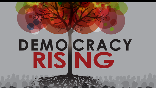 Democracy Rising Conference poster. Source: http://www.telesurtv.net/__export/1437075837641/sites/telesur/img/news/2015/07/16/conference_new1-02.png_1718483346.png