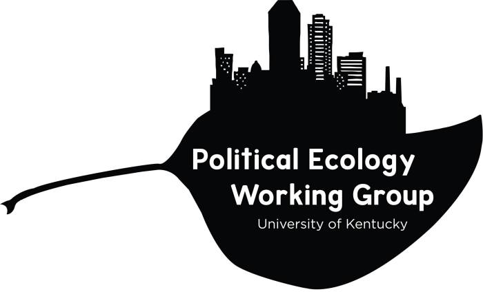 The conference is organised by the Univeristy of Kentucky Political Ecology Working Group. Source: https://www.facebook.com/ukpewg/