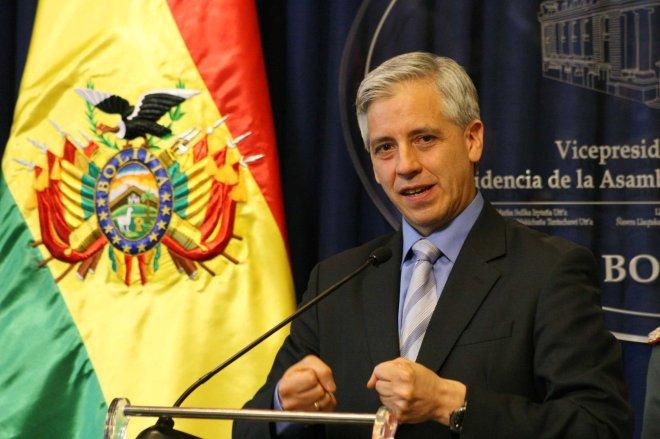 El vicepresidente de Bolivia, Álvaro García Linera. Fuente: http://www.vicepresidencia.gob.bo/