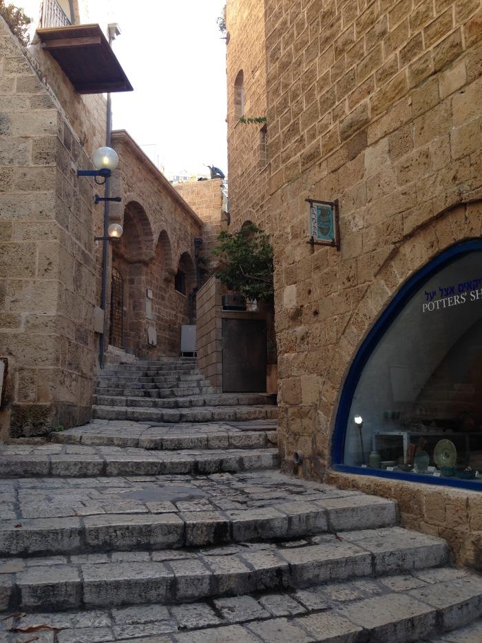 """Jaffa's """"artist colony"""". Source: Melissa García."""