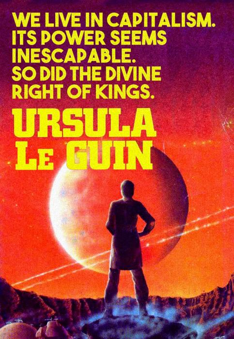 Ursula Le Guin, The Dispossessed. Source: reddit.com.