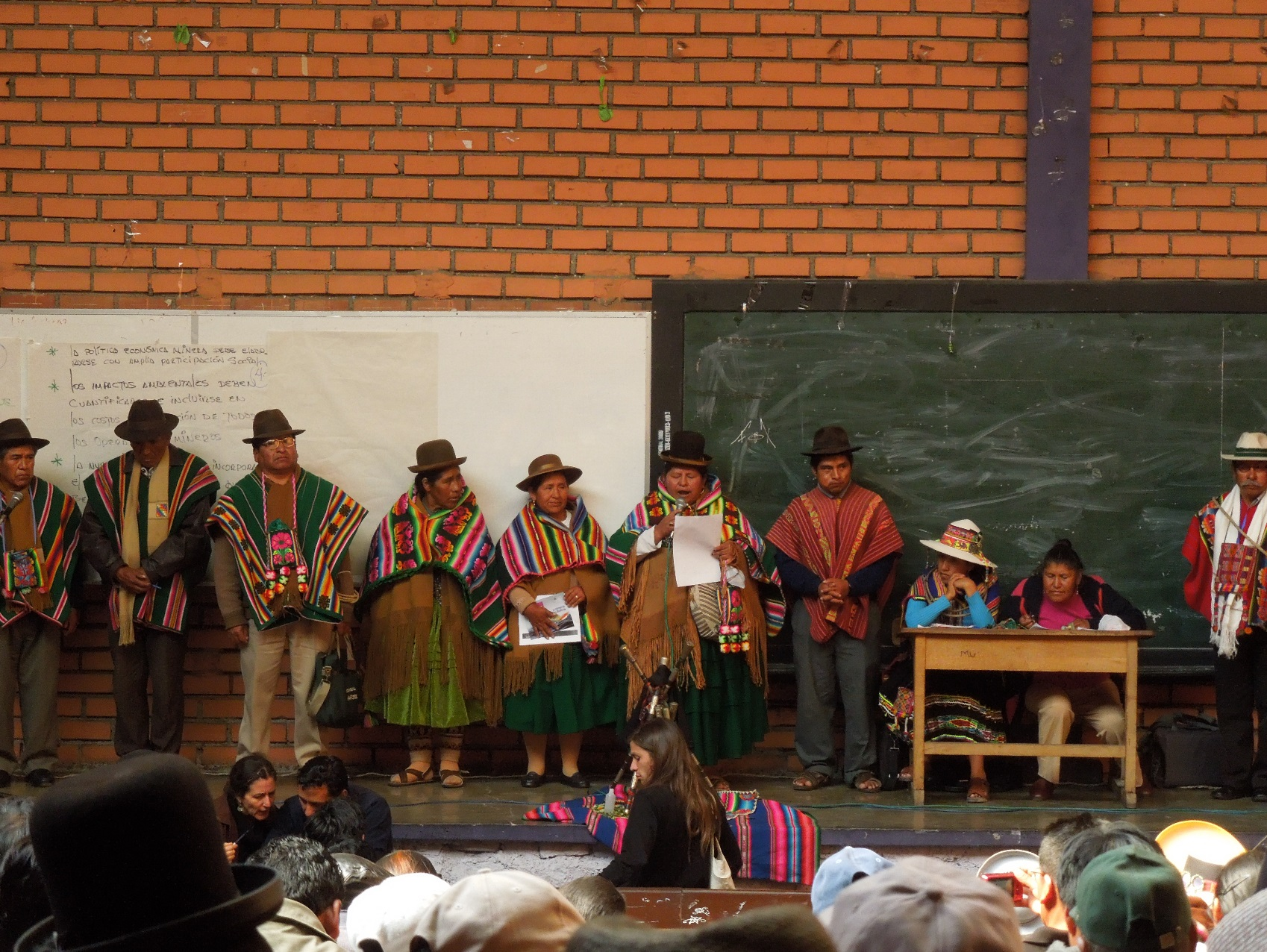 """Social summit"" against the Mining Law. La Paz, Bolivia. Photo credit: Diego Andreucci"