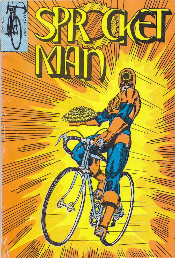 2_Sprocket Man Comic Cover