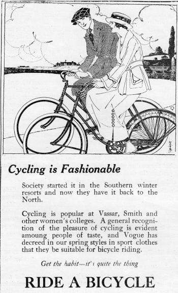 6_P16AdCyclingisFashionable1919UnitedCycleTradeDirectorate
