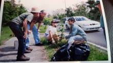 Arboretum collaborators in one of the first tree-planting activities. Source: Basilio Santiago.