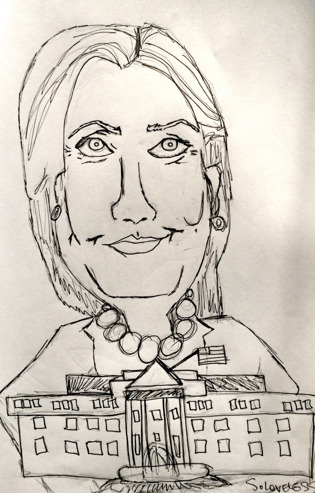 Hillary Clinton (source: S. Loveless)