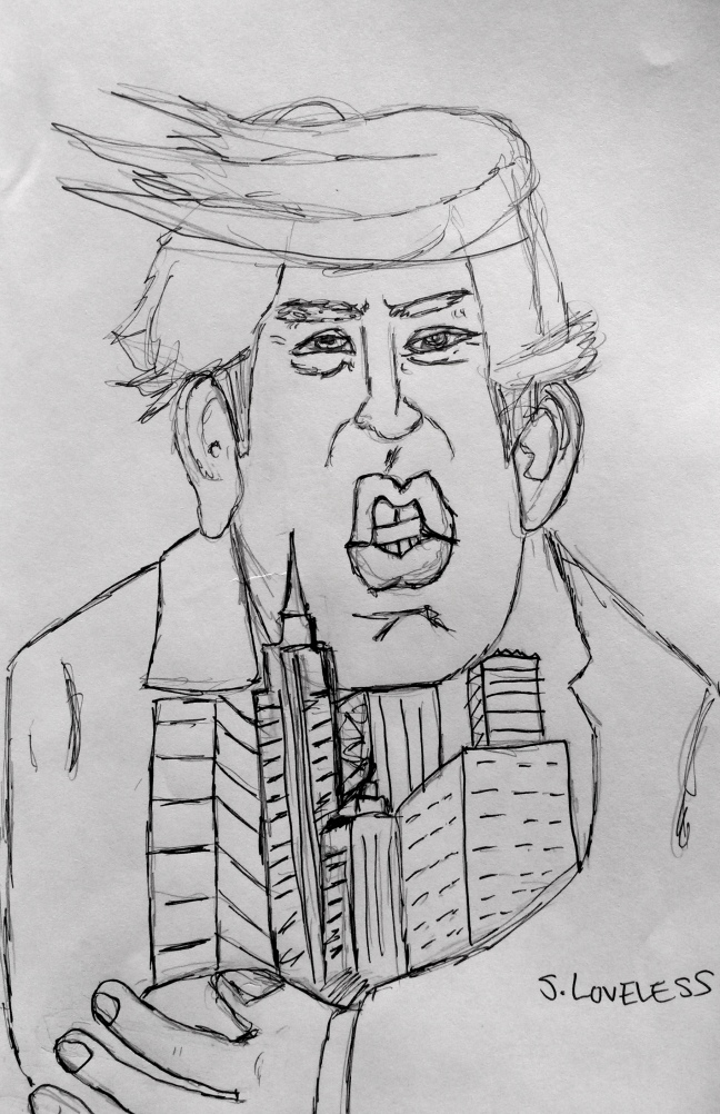 Donald Trump (source: S. Loveless)