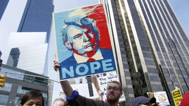 Rising resistance to Trump politics. Source. rollingstone.com