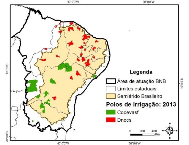 regadios nordeste brasil