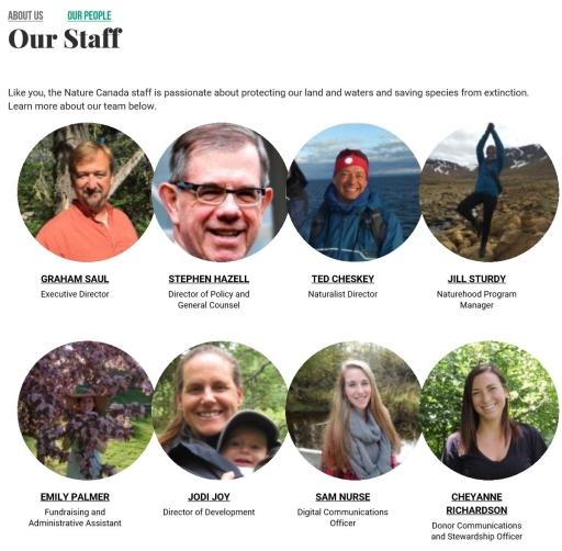 Nature Canada staff